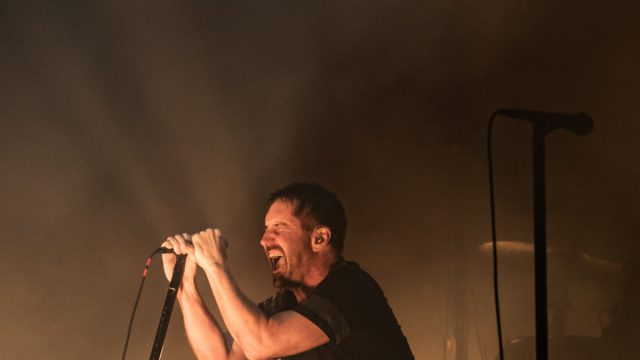Article thumbnail: Nine Inch Nails' Trent Reznor tears up the Royal Festival Hall (Photo: Victor Frankowski)