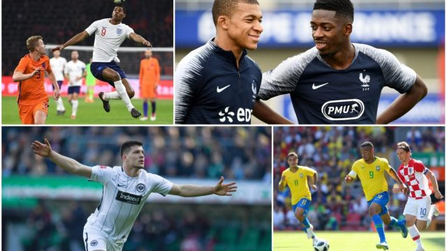 i names ten young players to watch in this summer's World Cup in Russia.
