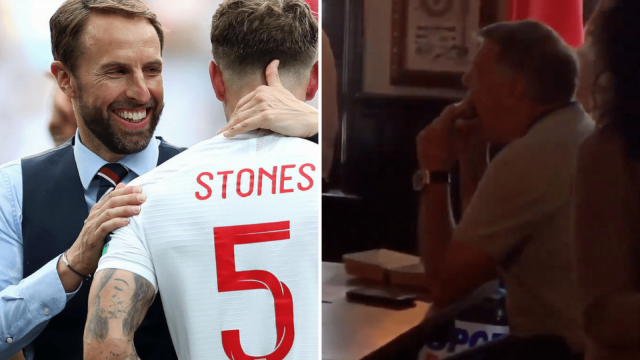 Gareth Southgate and Sam Allardyce were in markedly different places on Sunday afternoon