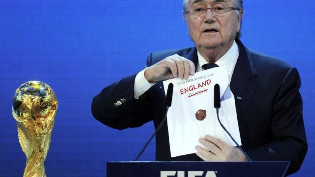 What might the World Cup have looked like if Sepp Blatter had announced England as winners and not Russia