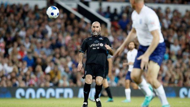 Eric Cantona Soccer Aid
