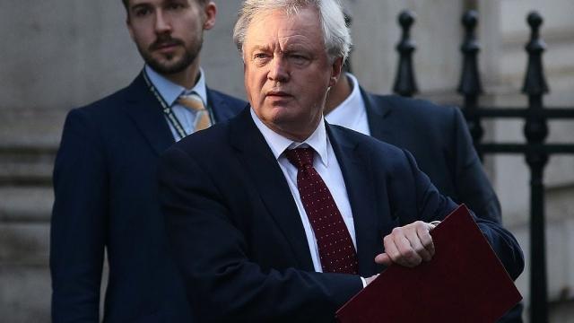 David Davis resigns as Brexit secretary
