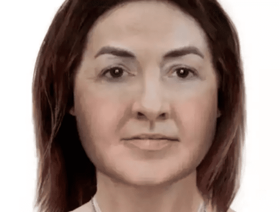 A forensic artist produced an image of how she looked when she was alive, in the hope someone will recognise her. (Photo: Peterborough Today)