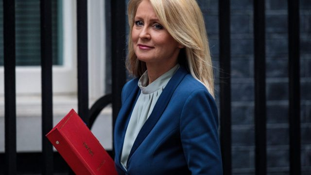 Work and Pensions Secretary Esther McVey (Getty)