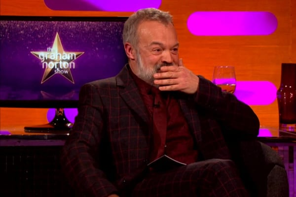 Graham Norton is back this week (Photo: BBC)