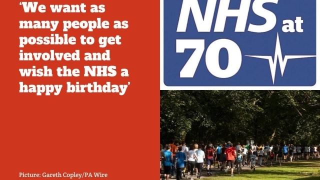The special parkruns are all about celebrating 70 years of the NHS. (Photo: Gareth Copley/PA Wire)