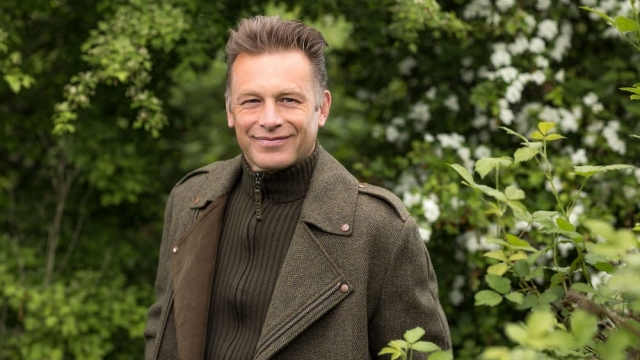 Chris Packham and his partner Charlotte Corney have been together since 2007. (Photo: Jo Charlesworth/BBC)