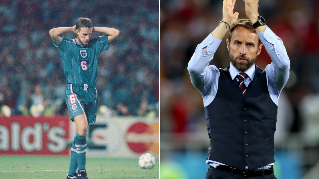 Gareth Southgate has learned from his crucial Euro 96 penalty miss 22 years ago