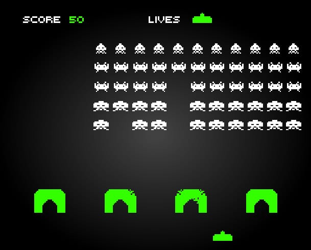 Space Invaders was released in July 1978 (Photo: Space Invaders)