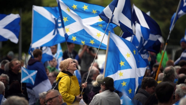 Support for Scottish independence is higher than it was in 2014 (Photo: PA)