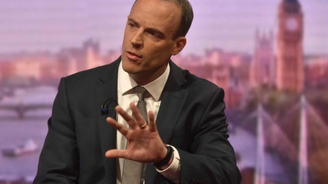 Dominic Raab said he did not approve of 'hair raising stories' about the possible impact of a no deal Brexit (Photo: PA)