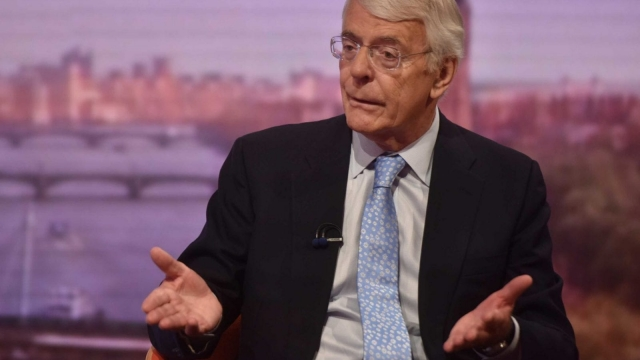Sir John Major said a no deal Brexit would be 'catastrophic' for the UK (Photo: PA)
