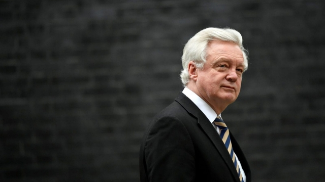 David Davis resigned due to disagreements with the Brexit plan agreed at Chequers