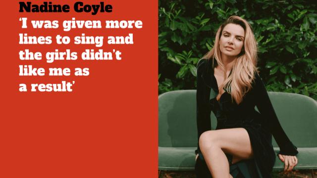 Nadine Coyle of Girls Aloud