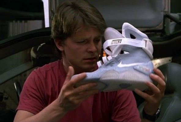 Back To The Future 2's self-tying shoe