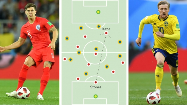 Sweden have a better 'Packing' score than England at this World Cup - but will it make the difference on Saturday (Getty Images/iPaperSport)