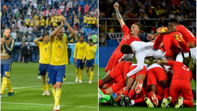 England will play Sweden in the quarter-finals of the World Cup at 3pm BST on Saturday 7 July. (Getty Images/edited by i Paper Sport)