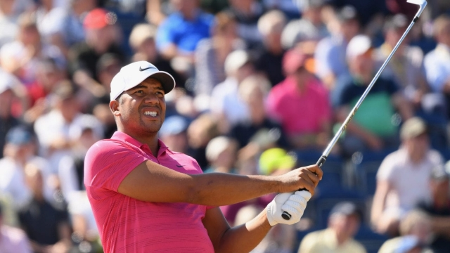 Better late than never: Jhonattan Vegas survives visa trauma and lost clubs to make his tee time at the Open Championship at Carnoustie (Getty Images)