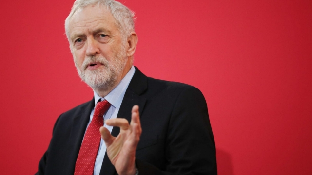 On these figures Jeremy Corbyn would lead the largest party in a hung parliament (Photo by Christopher Furlong/Getty Images)