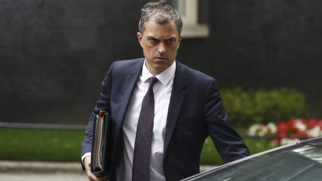 Tory Chief Whip Julian Smith faced accusations of skulduggery to win crucial vote (Simon Dawson/Getty Images)