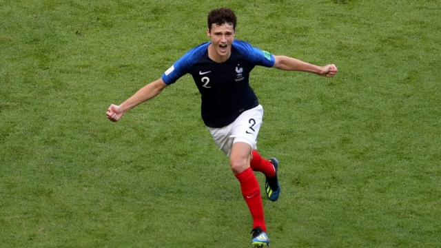 Benjamin Pavard was an impressive performer at the World Cup for France - and scored one of the goals of the tournament (Getty Images)