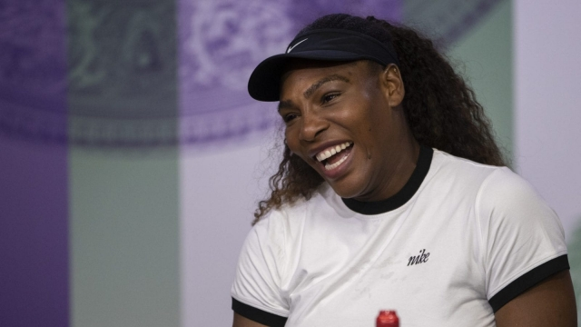 Serena Williams is the bookies favourite after Petra Kvitova went out in the first round (Getty)