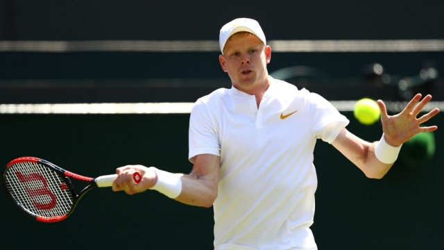 Kyle Edmund enters Wimbledon this year as British No 1 for the first time (Getty)