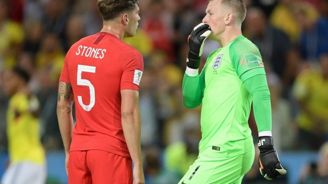 John Stones marshalled thee England defence impressively against Colombia (Getty Images)
