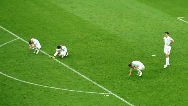 England gave their all but couldn't make their early domination pay against Croatia (Getty Images)