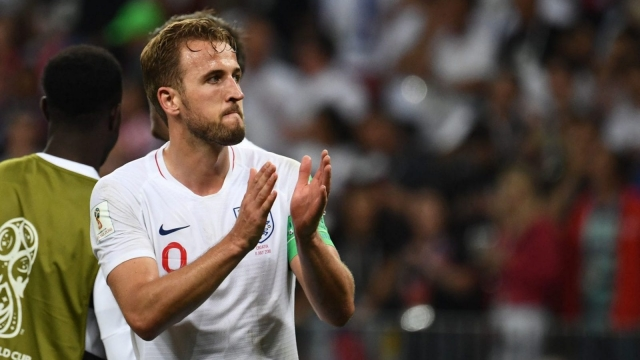 England captain Harry Kane cut a dejected figure after his side's defeat to Croatia (Getty Images)
