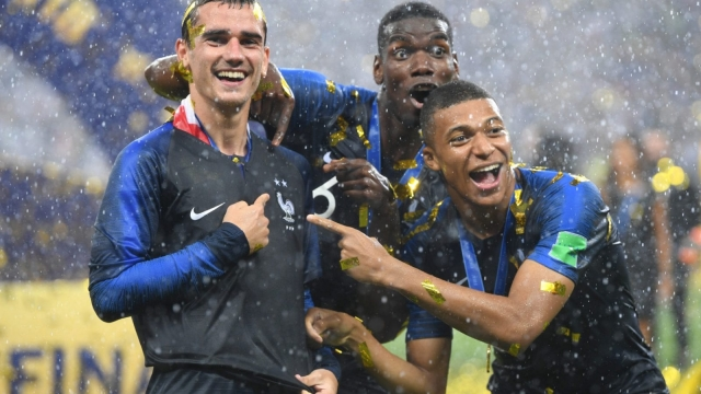 Two decades on from their first world title, a multi-ethnic France have delivered football's main prize once more (Getty Images)