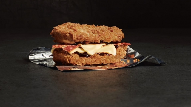 KFC Double Down back