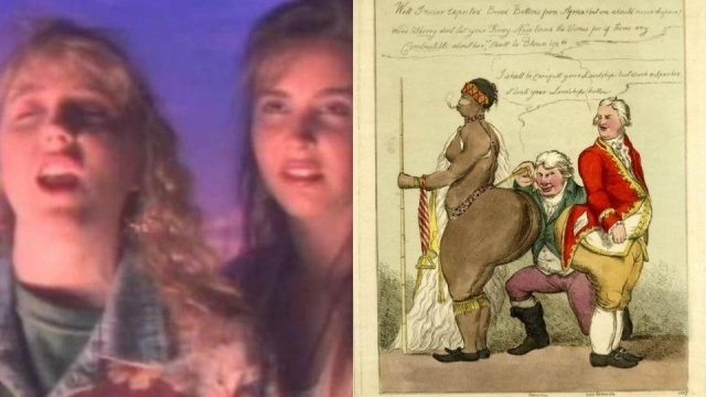 Article thumbnail: From the 'Oh my God, Becky' girls all the way back to the Hottentot Venus, white people have not been shy in judging black bodies (Photo: YouTube/British Museum)
