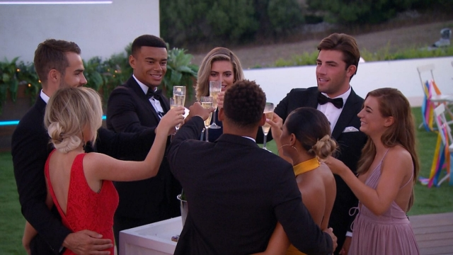 The Love Islanders raise a glass after driving ITV2 to record viewing figures (ITV Studios)