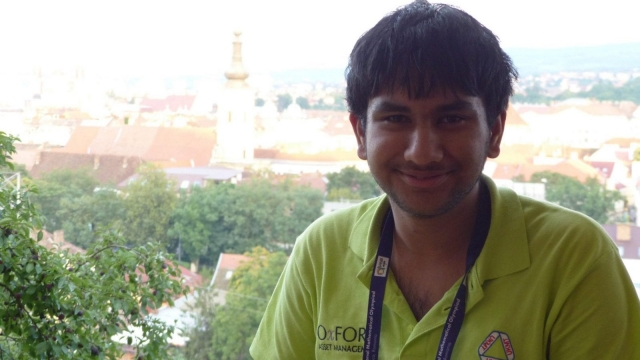 Agnijo Banerjee from Grove Academy in Dundee achieved a perfect score (Photo: UK Mathematics Trust)