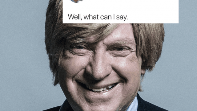 Michael Fabricant accused of racism after tweeting picture of Sadiq Khan. (twitter)
