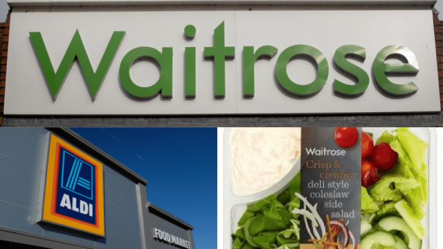 Aldi and Waitrose have recalled more products due to the listeria outbreak (Photo: Getty Images)