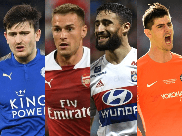 Maguire, Ramsey, Fekir and Courtois are just some of the main protagonists of this week's transfer news
