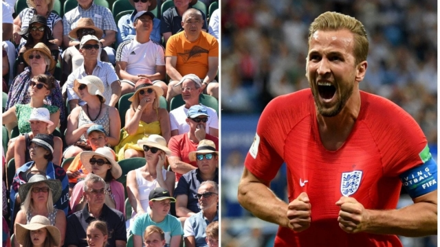 The Wimbledon crowd give their World Cup predictions to i, ahead of England's Round of Last 16 match against Colombia. (Getty images)