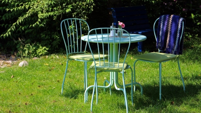 Garden furniture can be covered by your contents insurance
