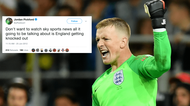 Jordan Pickford saved brilliant from Carlos Bacca to help England to a penalty shootout win over Colombia