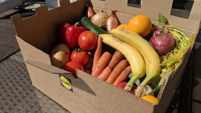 Lidl fruit and veg box