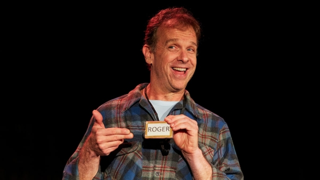Donald Sage Mackay plays Angry Alan (image: The Other Richard)