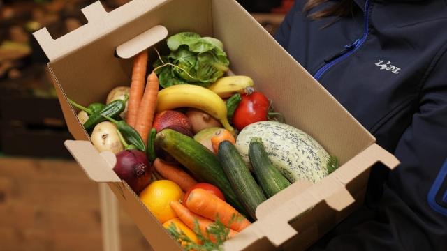 Lidl fruit and veg box
