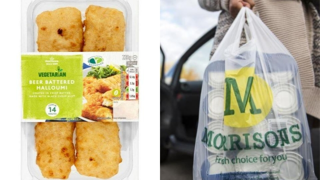 Morrisons launches halloumi fries