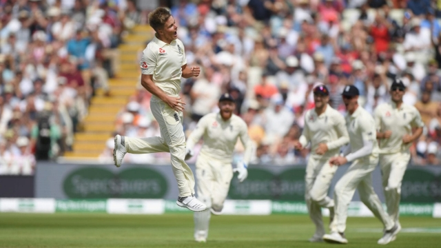 Sam Curran was named Man of the Match for his performance with bat and ball against India in the first test (Getty Images)