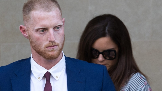 England Cricketer Ben Stokes leaves Bristol Crown Court cleared of affray (/Getty Images)