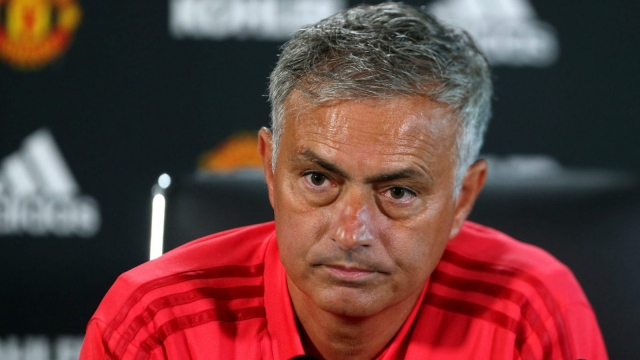 Manchester United manager Jose Mourinho has not stopped moaning (Getty Images)