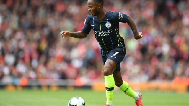 Raheem Sterling was a star performer for City against Arsenal just a week after returning to training (Getty Images)