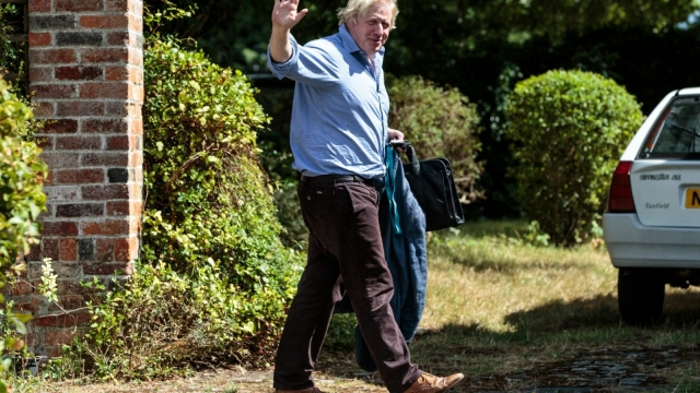 Boris Johnson, former London Mayor and former Foreign Secretary. (Photo by Jack Taylor/Getty Images)